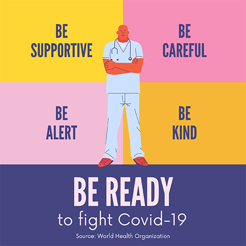 Be Ready to Fight Covid-19-500